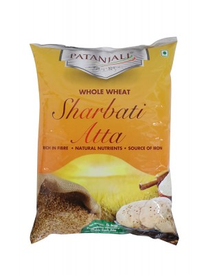 Patanjali Sharbati Whole Wheat Atta 1kg