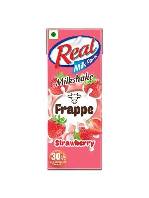Dabur Real Frappe Milkshake - Strawberry 180ml