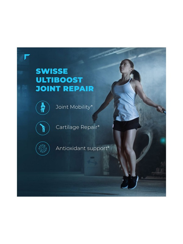 Swisse Ultiboost Joint Repair Supplement with Glucosamine, Chondroitin & Manganese for Joint Mobility and Function. – 90 Tablets