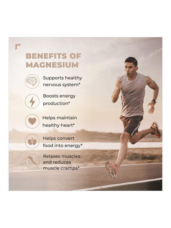 Swisse Ultiboost Magnesium Supplement for Immunity, Muscle Energy & Heart Health – 60 Tablets (Vegan Supplement)