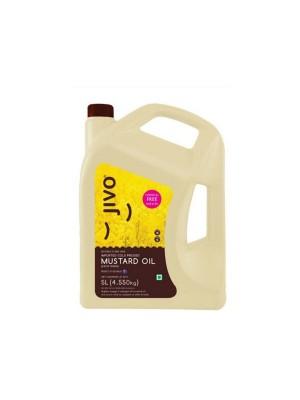 Jivo Kachi Ghani Mustard Oil 5L
