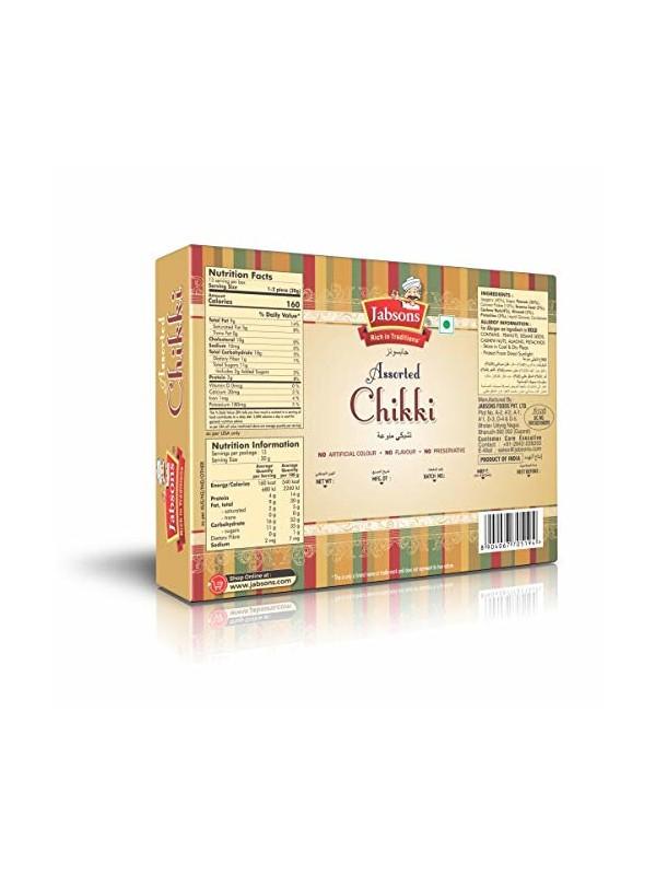 Jabsons Chikki Assorted 480 gm