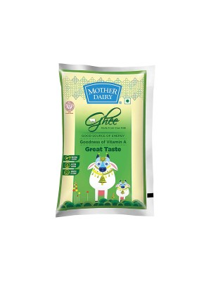 Mother Dairy  Cow Ghee Pouch 1L
