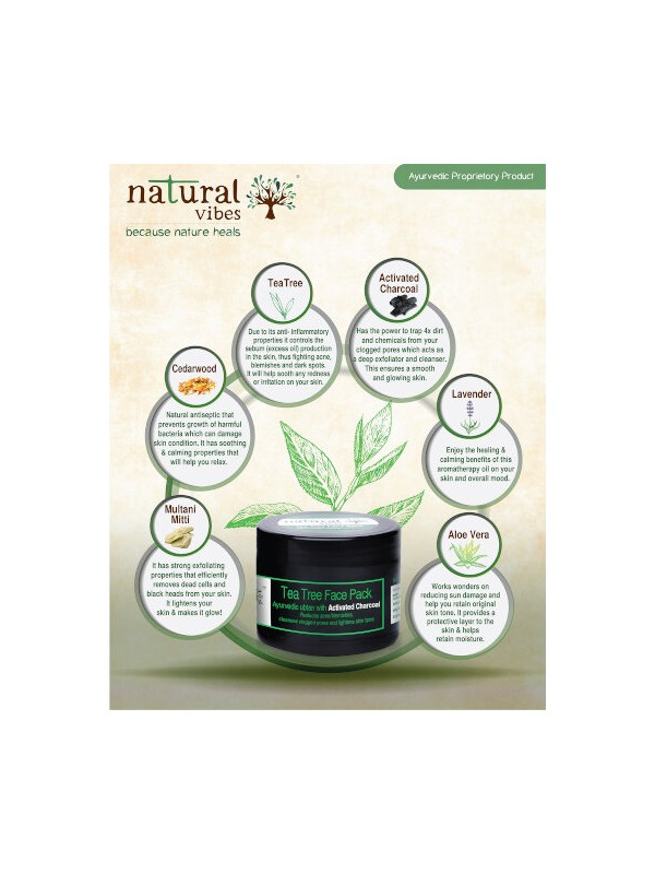 Natural Vibes Charcoal Face Care Routine