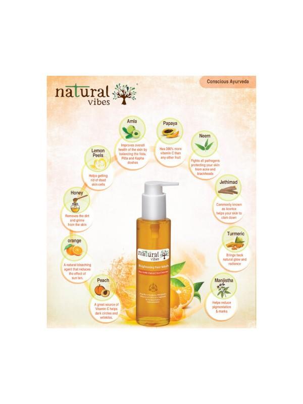 Natural Vibes Vitamin C Skin Repair Glow Regime