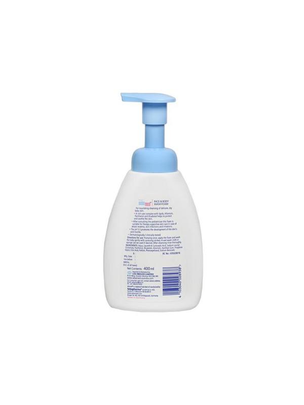 Sebamed Baby Face & Body Wash Foam 400 ml