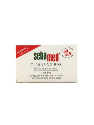Sebamed Cleansing Bar Soap-Free for Normal to Oily Skin 100gm