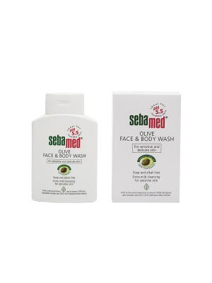 Sebamed Olive Face & Body Wash 200ml