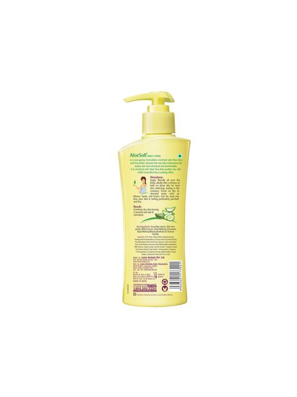Lotus Aloe Soft Daily Body Lotion Spf-20 - 250ml