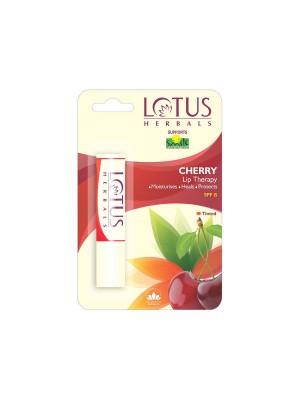 Lotus Cherry Lip Therapy Spf 15 Lip Balm