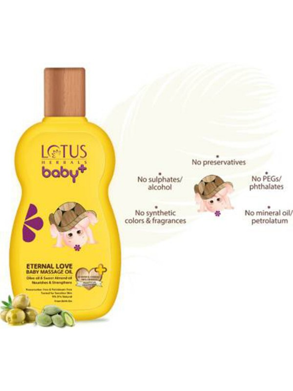 Lotus Baby Plus Eternal Love Baby Massage Oil 100 ml