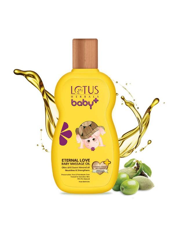 Lotus Baby Plus Eternal Love Baby Massage Oil - 200 ml
