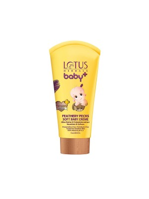 Lotus Baby Plus Feathery Pecks Soft Baby Creme - 50 gm