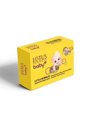 Lotus Baby Plus Little Bubbles Gentle Bathing Soap 75 gm