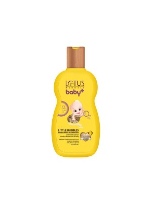 Lotus Baby Plus Little Bubbles Body Wash And Shampoo - 200 ml