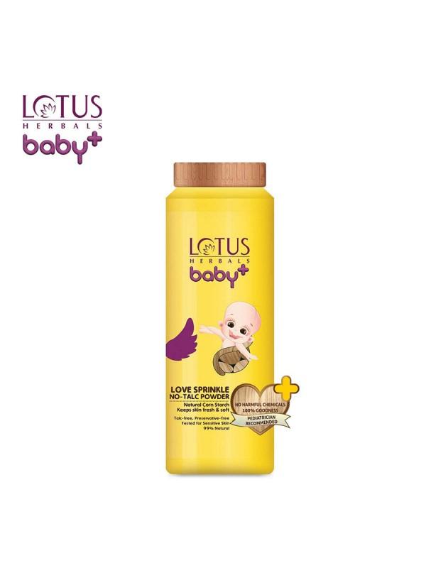 Lotus Baby Plus Love Sprinkle No-Talc Powder (100 gm)