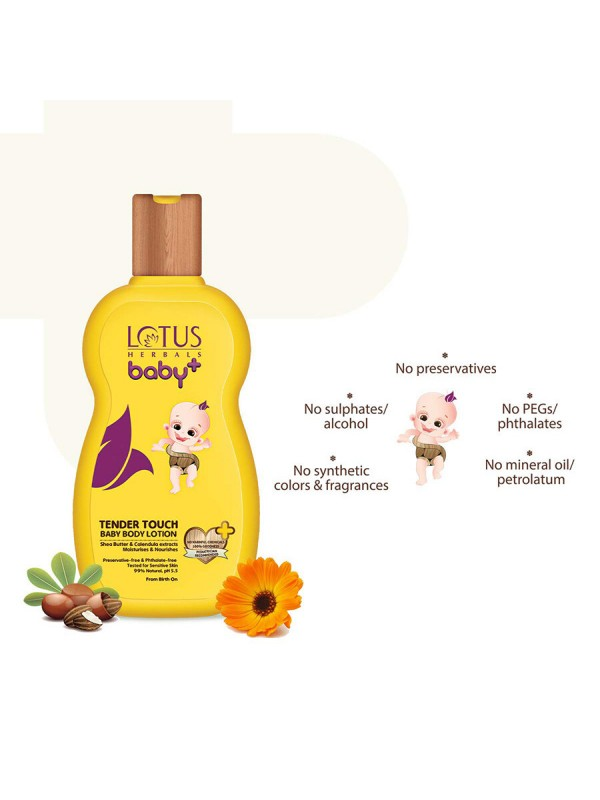 Lotus Baby Plus Tender Touch Body Lotion 100 ml