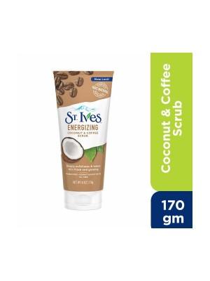 St Ives Energizing Coconut & Coffee Scrub  (170 gm)