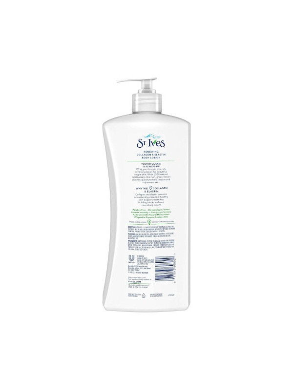 St Ives Skin Renewing Collagen Elastin Body Lotion, 621 ml