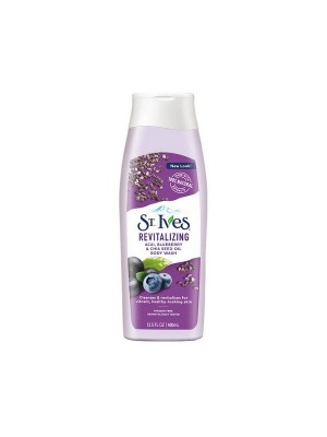 St Ives Revitalizing Acai, Blueberry And Chia Seeds Body Wash 400 ml