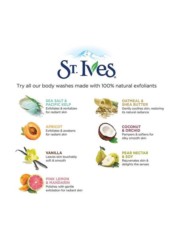 St Ives 13.5 Ounce Purifying Sea Salt Body Wash 400ml