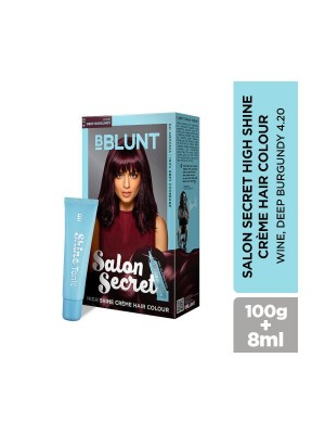Bblunt Salon Secret Wine Hair Color - 100 gm