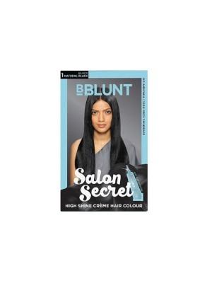 Bblunt Salon Secret Black Hair Color - 20 gm