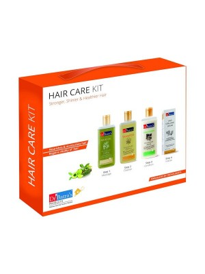 Dr Batra's Hair Care Kit 725 ml - Hair Oil, Shampoo, Conditioner with Andhair Vitalizing Serum