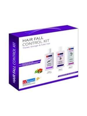 Dr Batra's Hair Fall Control Kit 525 ml - Hair Oil 200 ml, Shampoo 200 ml, Hair Fall Control Serum 125 ml