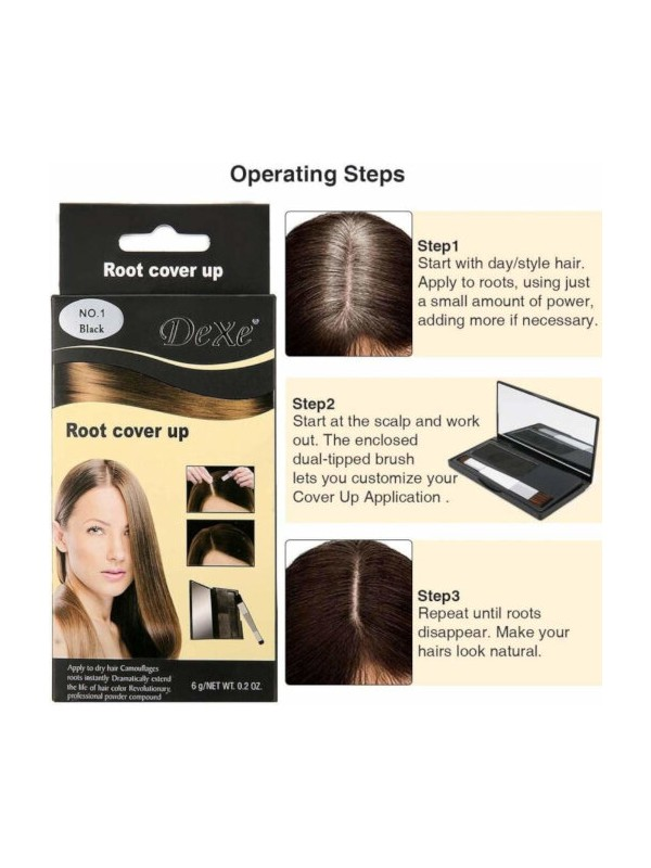 Dexe Root Cover Up For Perfect Hair Colour  - Dark Brown 6 gm