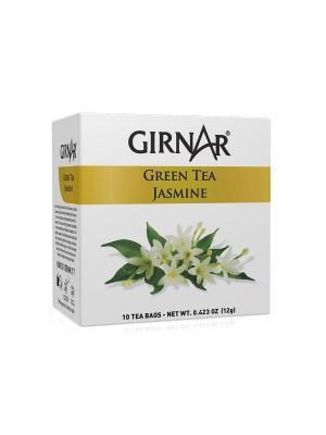 Girnar Green Tea with Jasmine (10 Tea Bags)
