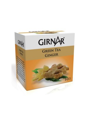 Girnar Green Tea Ginger 10 Tea Bags