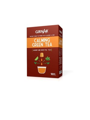 Girnar Instant Premix Calming Green Tea 100gm