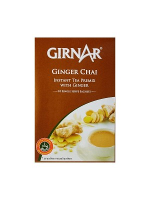 Girnar Instant Premix With Ginger Chai (10 Sachets)