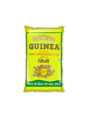 Guinea Filtered Groundnut Oil 1L Pouch