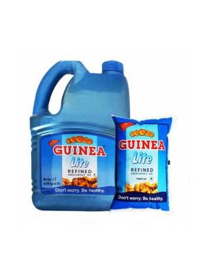 Guinea Lite Refined Groundnut Oil 1L Bottle