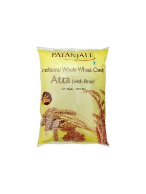 Patanjali Whole Wheat Atta - 10Kg
