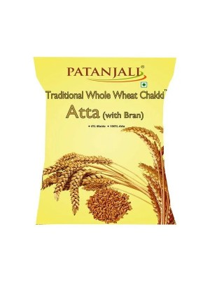 Patanjali Whole Wheat Atta 2 Kg - Traditional