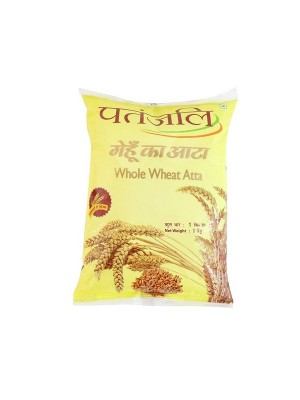 Patanjali Whole Wheat Atta 1Kg
