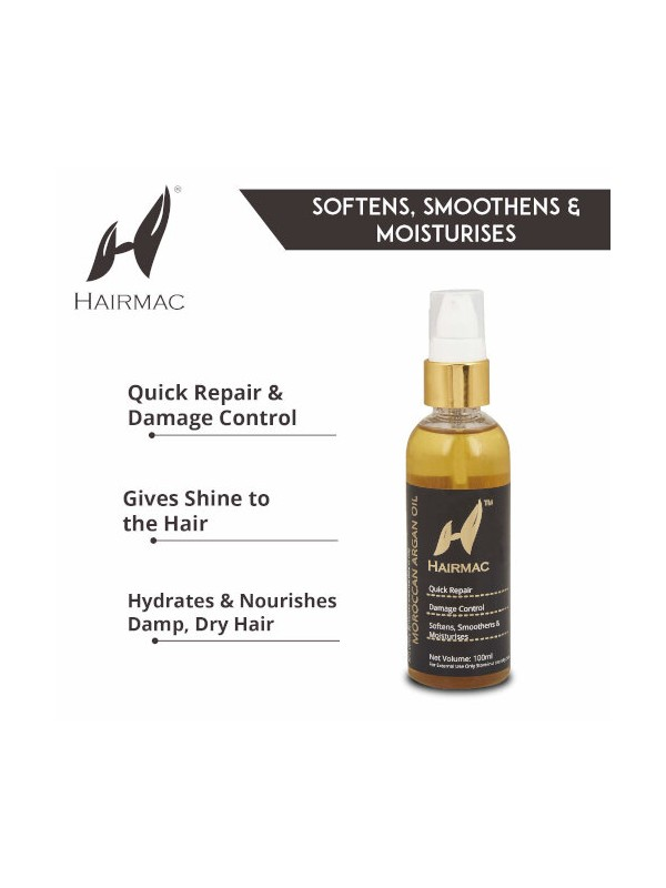 Hairmac Moroccan Argan Oil - 100 ml