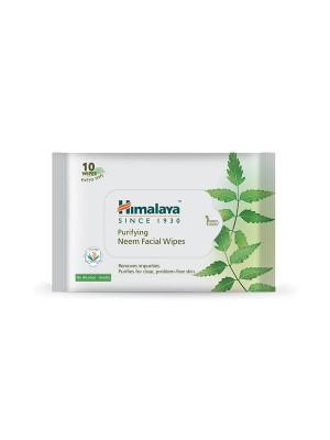 Himalaya Purifying Neem Facial Wipes 10'S