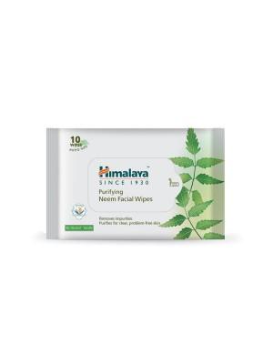 Himalaya Moisturizing Aloe Vera Facial Wipes 10'S