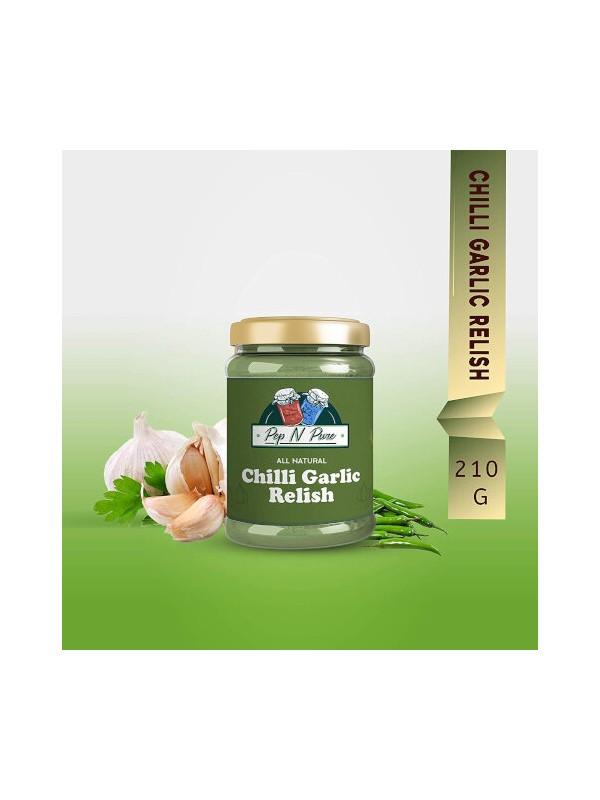 Pep N Pure Chilli Garlic Relish 210 gm