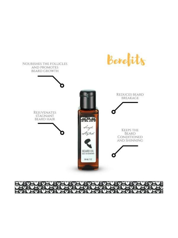 Singh Styled Beard Oil - Growth Maintain Repair - 30 ml