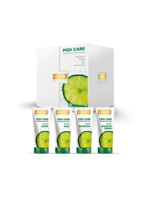 Richfeel Pedi Care With Natural Lemon Etracts (3 Appilcations) 100 gm