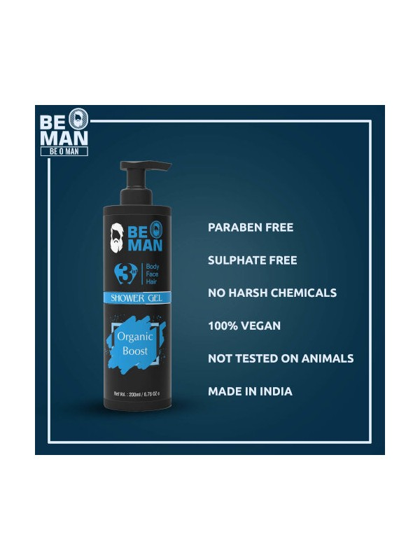 Be O Man Shower Gel 200ml
