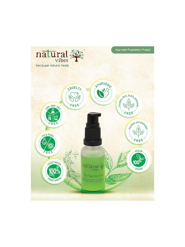 Natural Vibes Anti Acne Dandruff Treatment 510 ml