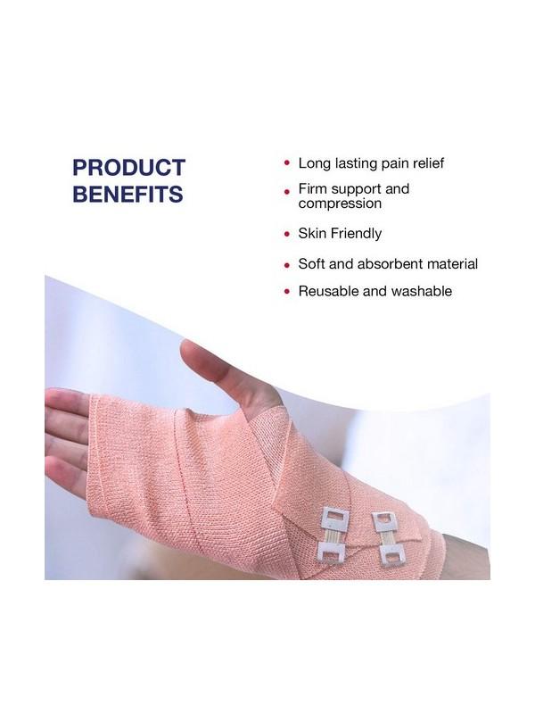 Hansaplast Soft Cotton Pain Relief Crepe Bandage 8Cm X 4m Pack Of 1