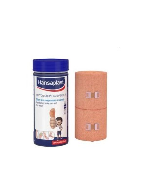 Hansaplast Cotton Crepe Bandage Roll Size 10Cm X 4m Pack Of 1