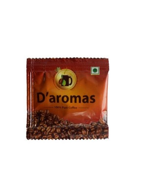 D'Aromas Pure Coffee 8 gm Sachet (Pack of 80)